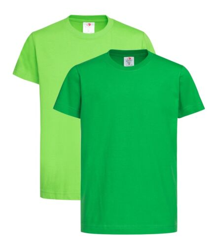 Kids Childrens Boys Girls IRISH KELLY or KIWI GREEN T-Shirt Tee shirt Tshirt
