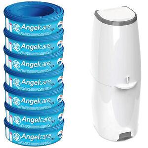 angelcare windeleimer comfort inkl 7 kassetten neu ebay. Black Bedroom Furniture Sets. Home Design Ideas