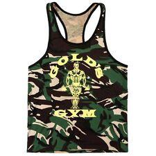 Size M Golds Gym Vest Muscle Stringer Bodybuilding Fitness Gym Top Gay Interest