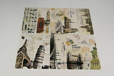 5pcs Beautiful European Scenes Bookmarks Good For Gift Present Souvenirs Prize
