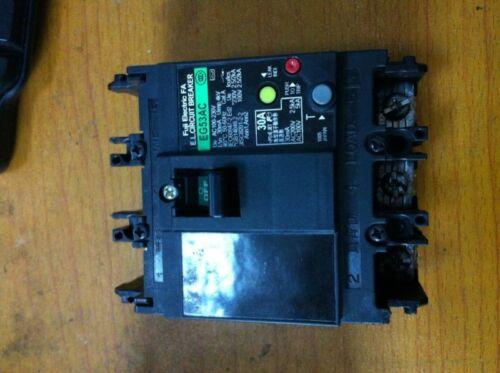 1PCS  Fuji earth leakage switch EG53AC 3P 30A