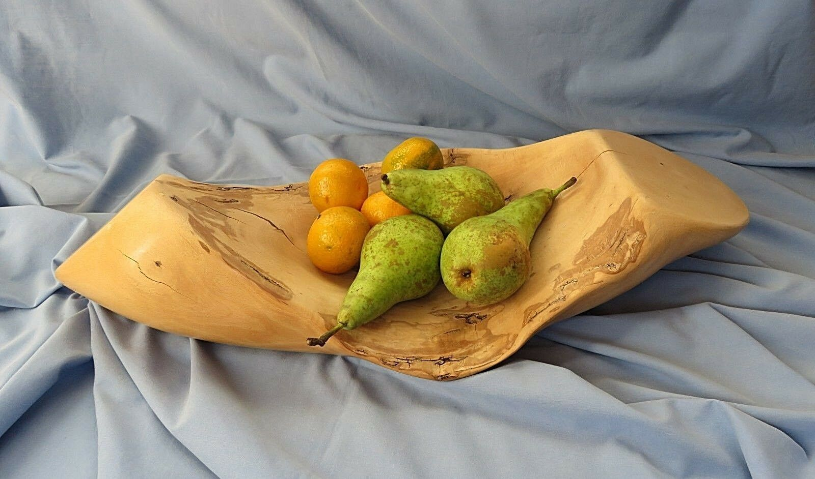 Naturally Formed Beech Wood Fruit Bowl