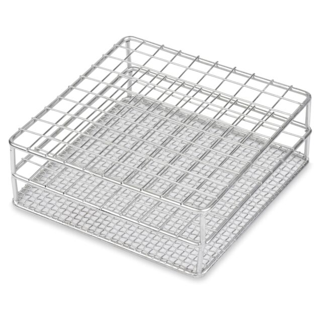 Case of 12 12//13mm 12 Place Wire Constructed Stainless Steel Test Tube Rack Karter Scientific 234G5