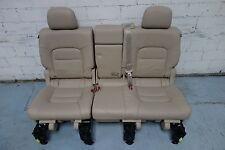 Toyota Land Cruiser V8 J200 Sitzbank 2. Reihe Sitz rear seat bench beige Leder