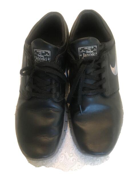 Atticus Proceso de fabricación de carreteras Cervecería  Nike SB Stefan Janoski Max Little Kids 943824-001 Black Shoes Youth Size 3  for sale online | eBay