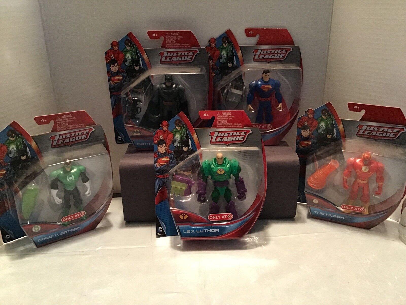 Mattel Justice League Figures Lot Of 5