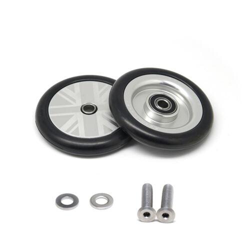 novdesign 4pcs nov wheel nov wheel CONVERTIBLE set for R-type Brompton