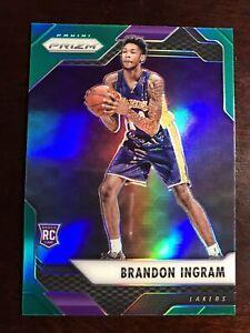 2016-17 Panini Prizm Prizms Green #131 Brandon Ingram RC