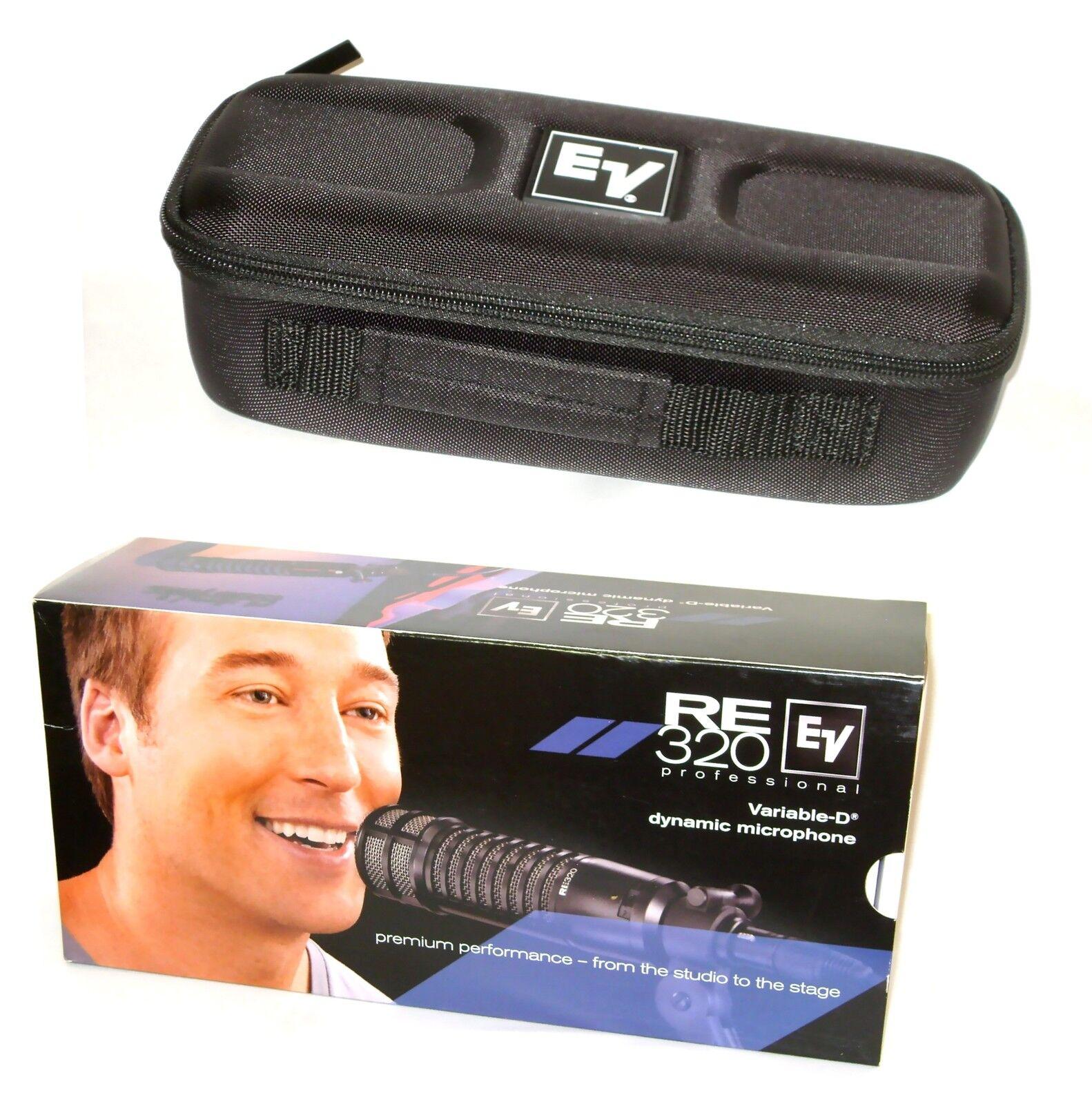 EV EV EV RE-320 micrófono Electro-voz RE320 Diafragma Grande Micrófono 2 día de entrega  96d84a