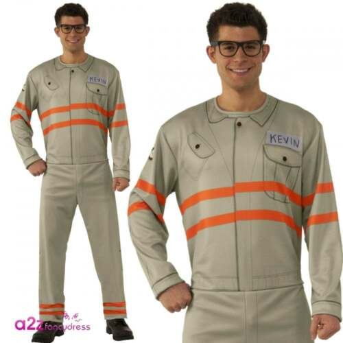 Homme Kevin Ghostbusters film 3 Official Licensed Fancy Dress Costume Halloween