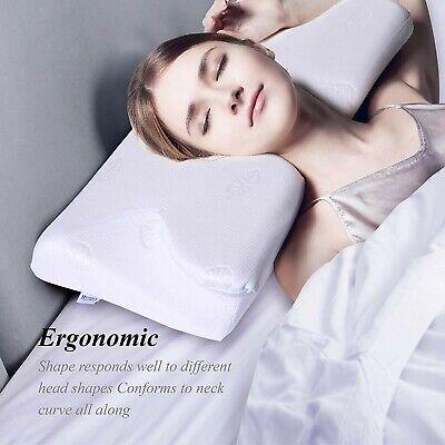 Memory Foam Orthopedic Pillow For Neck Pain Side Sleeper