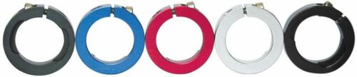 alliage colliers pour lock-on système poignées en rouge Lock jaw clamps