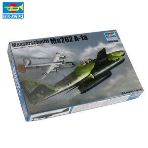 Trumpeter-01319-1-144-Scala-Messerschmitt-Me262-A-1a-Aereo-Kit-Modello