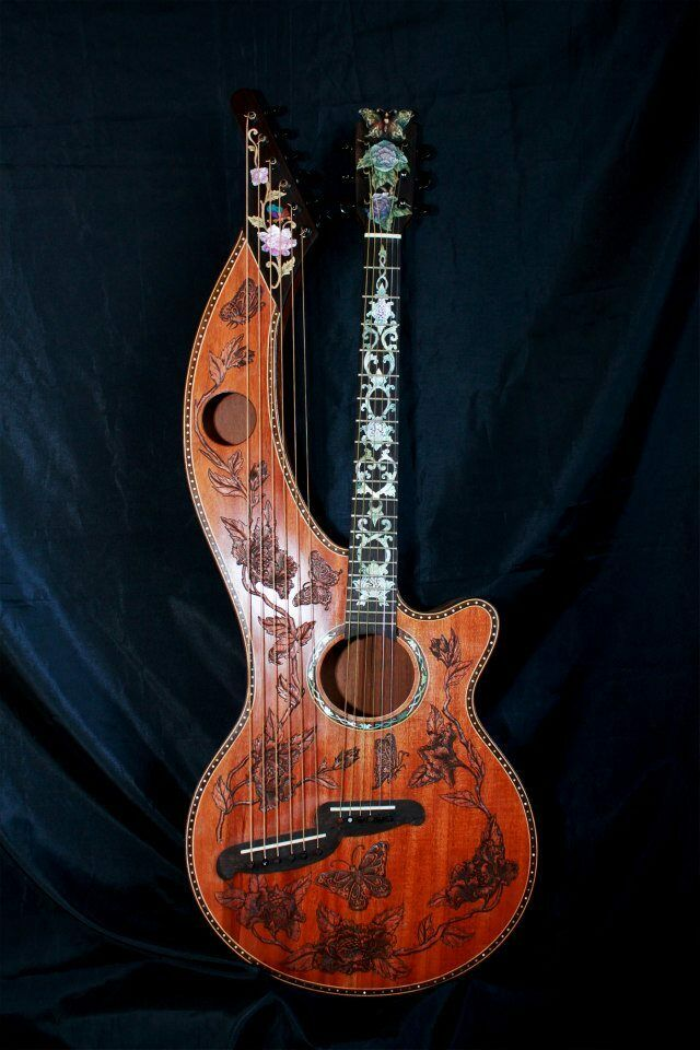 Blauberry Special Order Harp Guitar 90 Day Delivery