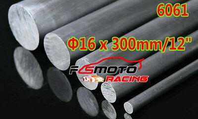 Φ25mm x 200mm ALUMINUM 6061 Round Rod 25mm Diameter Solid Lathe Bar Stock Cut