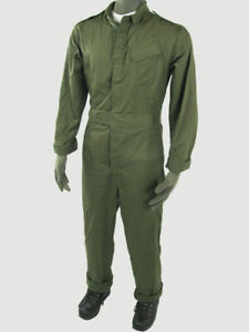 Genuine-British-Army-Military-Overalls-Boiler-Suit-Mechanic-Coveralls-All-Size