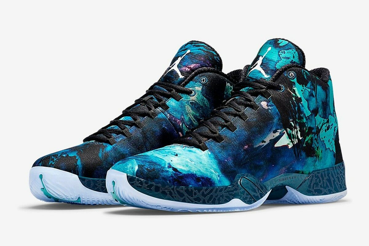 Nike Air Jordan 29 XX9 Year of the Goat Size 10.5 bluee Force White, Ship US only
