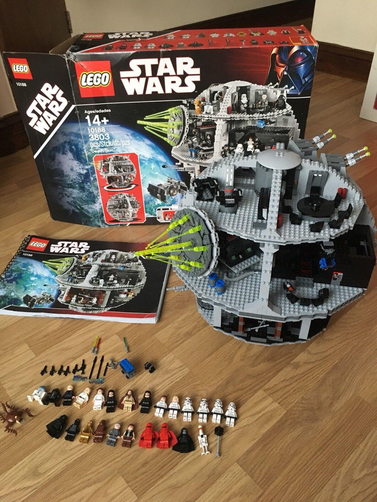 Lego Star Wars Death Star Set No 10188 Retired Complete