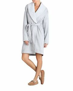 c37b4b1f39 Image is loading UGG-Women-039-s-Duffield-Robe-Silver-Large