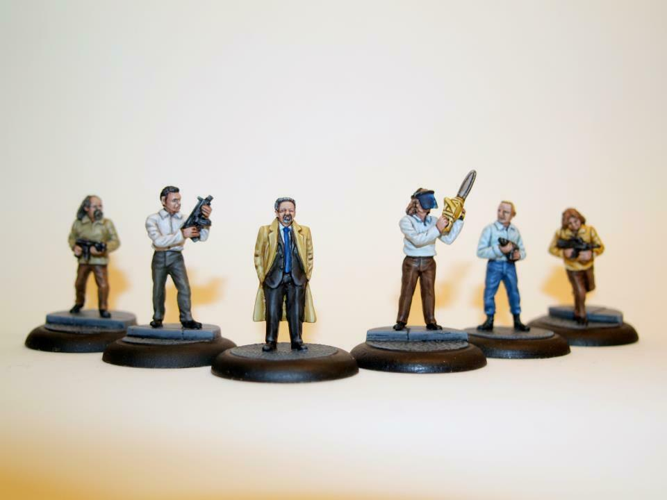 32MM DIE HARD INSPIRED TERRORISTS - EX-ROGUE MINIATURES -MINIFIGS