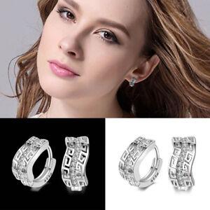 1Pair-Elegant-925-Silver-Hoop-Earrings-Women-Girl-Wedding-Bridal-Gift-Ear-Clip