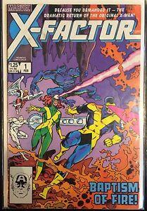 X-FACTOR-Vol-1-1-FN-1st-imprime-Marvel-Comics