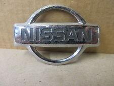 "NISSAN EMBLEM ORNAMENT "" NISSAN "" CHROME beveled edge design"