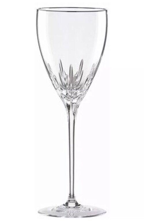 Lenox Firelight Platinum Signature 8 oz Wine Glass Lead Crystal  New