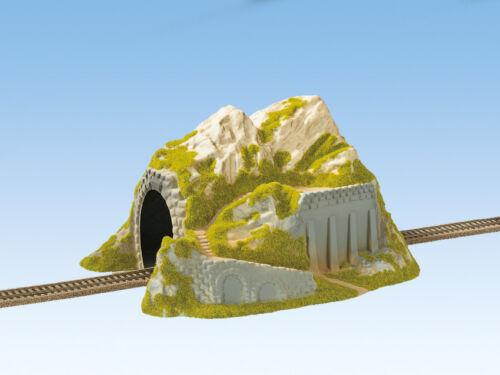 NOCH 02221 Spur H0 gerade 34x25cm #NEU in OVP# Tunnel 1-gleisig