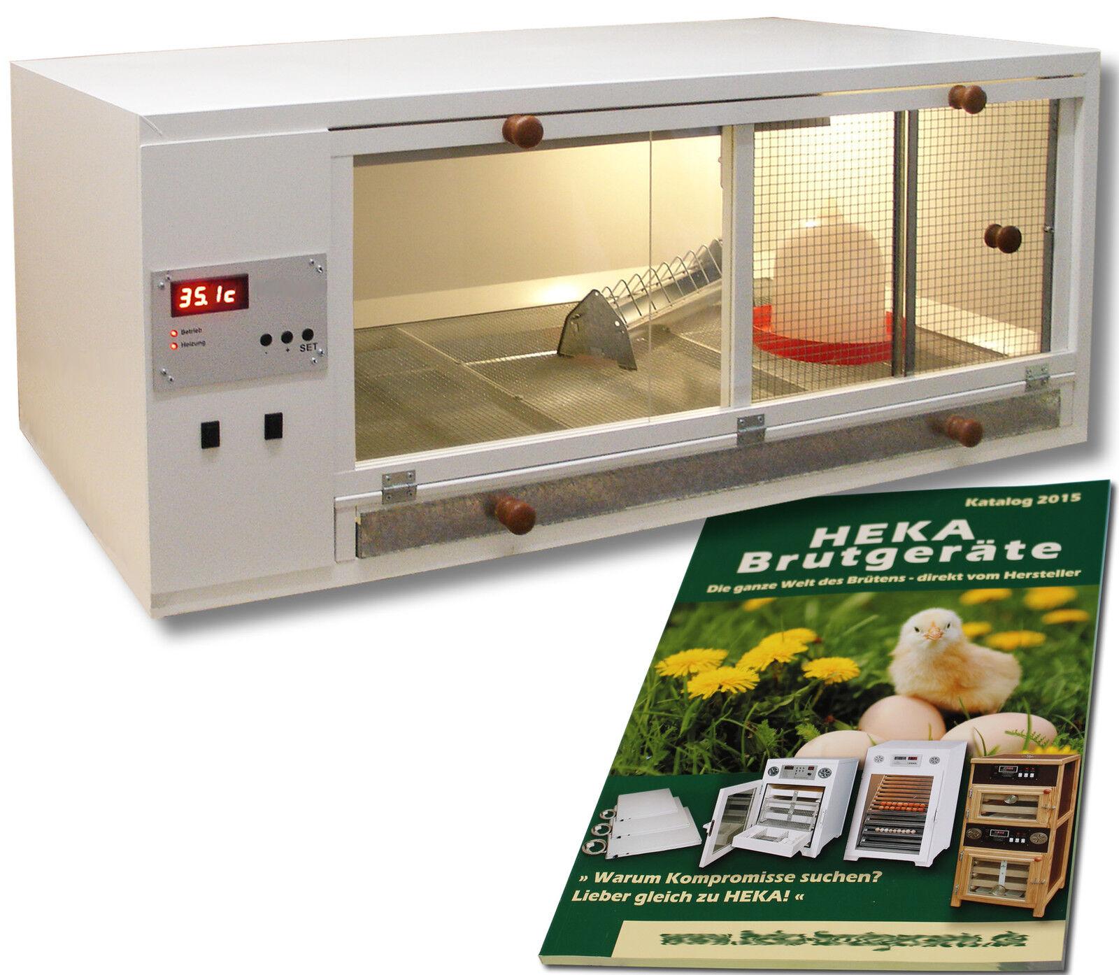 HEKA-Aufzuchtbox aus Kunststoff, 120x60x30cm, für 80 Küken @@@HEKA  Art. 4222 A