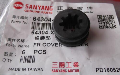 Genuine SYM Body Panel Frame Cover Mounting Rubber Damper Grommet 64304-X01-000