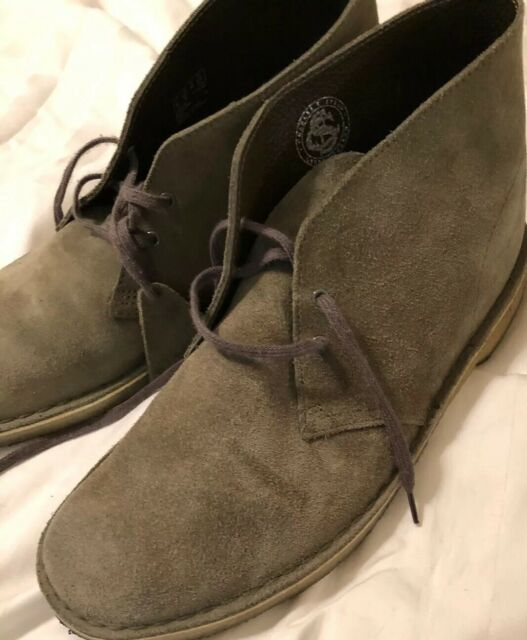 Clarks Navy suede mens slippers size 9 G Wide  New
