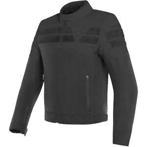 Dainese-Men-039-s-8-Track-Textile-Motorcycle-Jacket-Black-Black-Size-52-EU