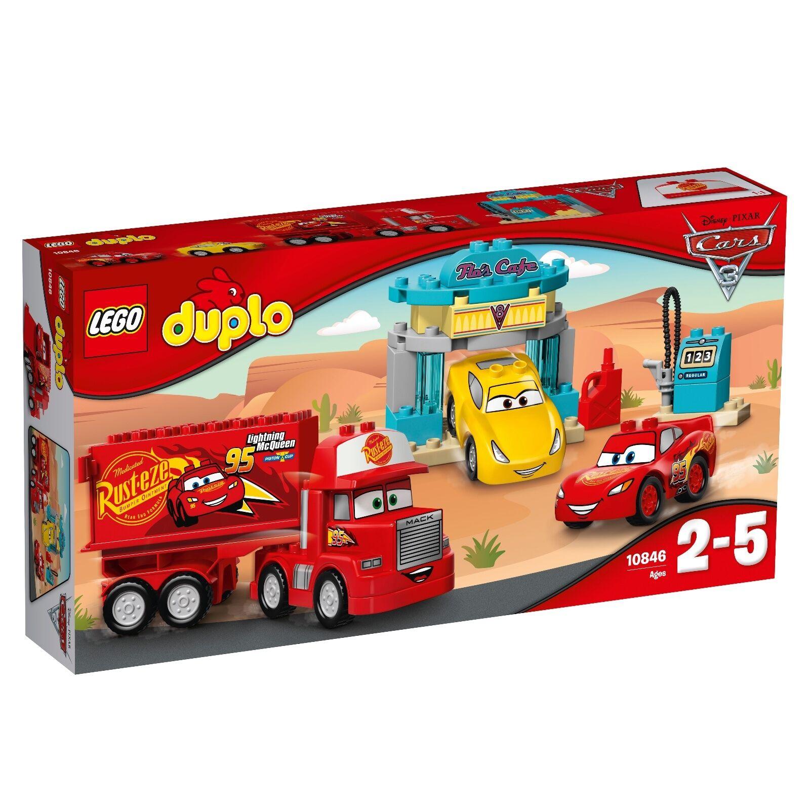 LEGO ®  DUPLO ® 10846 Flos Café Nouveau neuf dans sa boîte _ Flo's Café nouveau En parfait état, dans sa boîte scellée Boîte d'origine jamais ouverte  70% de réduction