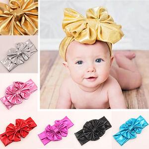 baby kid newborn infant princess big bow turbon knot