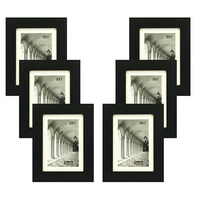 STUDIO 500 VALUE 4-PACK~11X14-inch Smooth Black  Contemporary Picture Frames