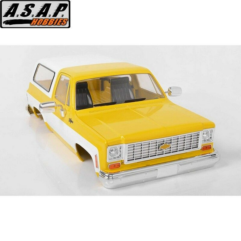 RC4WD Z-B0152 Chevrolet Blazer Hard Body Complete Set giallo