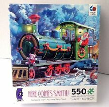 Here Comes Santa Clause  -Puzzle 550 Pieces by CEACO