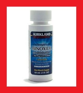 Kirkland Minoxidil 5% Extra Strength Men Hair Regrowth Solution 1 Month Supply