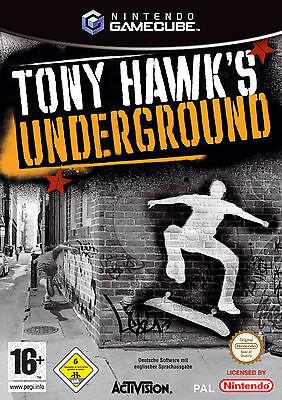 Tony   Hawks Underground [Akzeptabel]  Spiele Gamecube Nintendo Videospiele