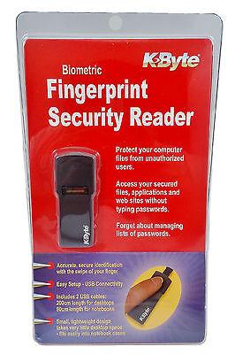 USB Fingerprint Biometric Security Scanner Reader for Windows Laptop Desktop PC