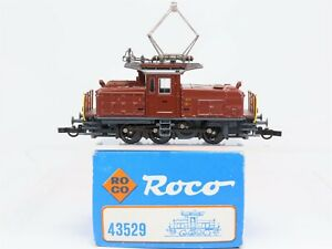 HO-Scale-Roco-43529-SBB-CFF-Swiss-Federal-Ee-3-3-Electric-Switcher-Locomotive