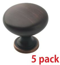 "LOT 10 AMEROCK Allison Oil Rubbed Bronze 1-1//8/"" Rope Cabinet Knob BP53001-ORB"