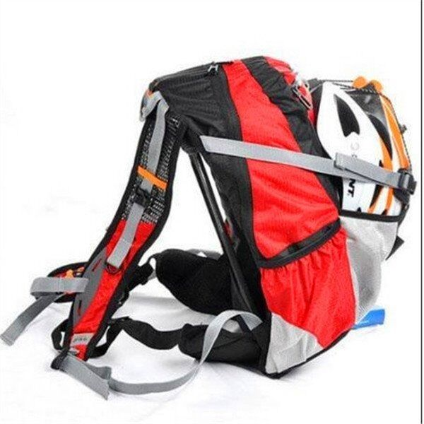 Cycling Bags 20L Bike Bicycle Sports Bag Backpack Pouch with Rain Cover Red