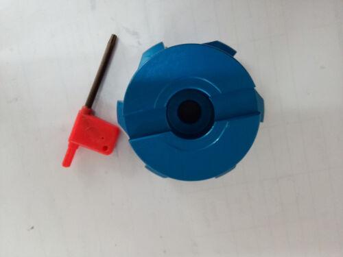 10× APKT1604 R8-FBM22 Al 400R-80-22 Indexable Face milling Cutter + 7//16-20