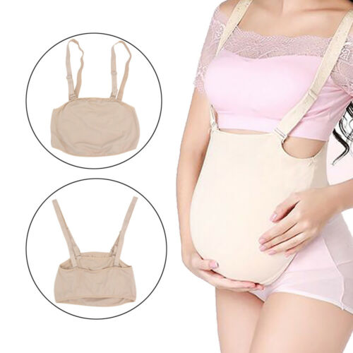 New Fake Belly Artificial Baby Tummy Belly Pregnancy Pregnant Bump Cloth Bag