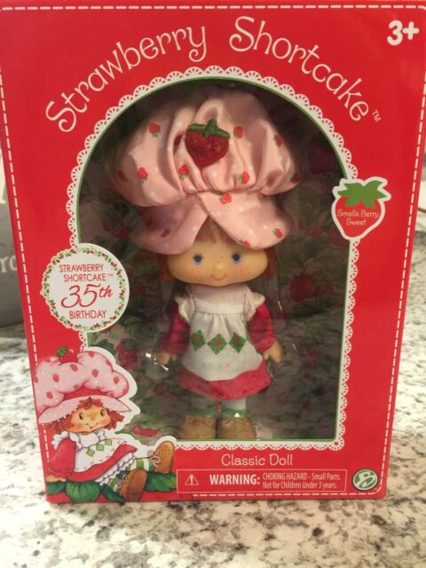 STRAWBERRY SHORTCAKE 35 TH BIRTHDAY EDITION CLASSIC DOLL BRAND NEW IN BOX