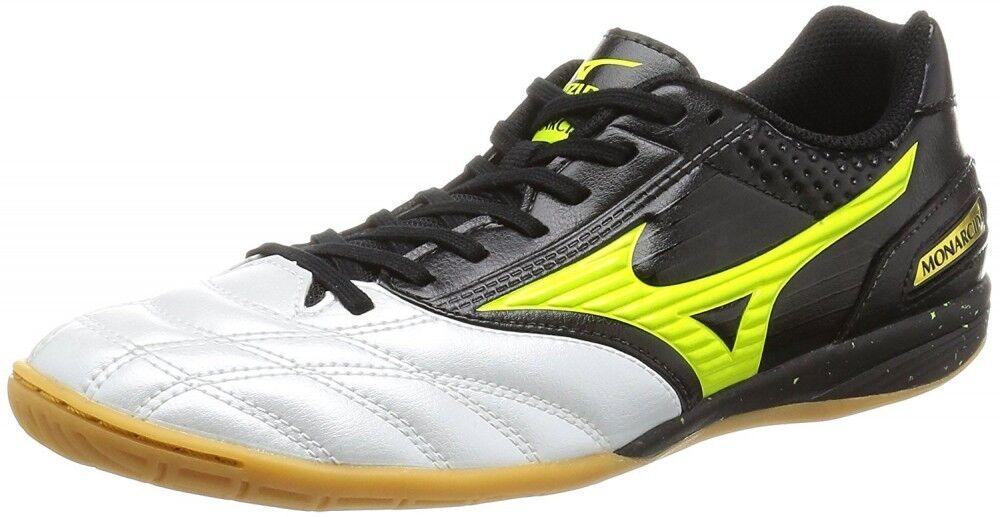 Zapatos DE FUTSAL FÚTBOL Mizuno monarcida Sala Q1GA1611 Negro  X Amarillo  comprar mejor