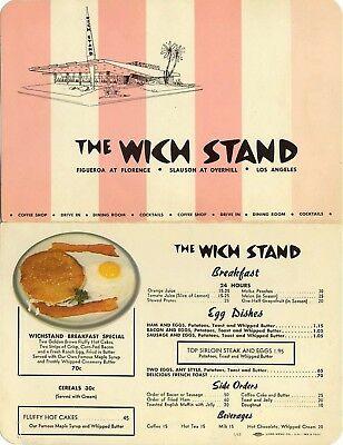 """1955 F.W Woolworth Counter Menu, 4/"""" X 6/"""" Sublimated Aluminum"""