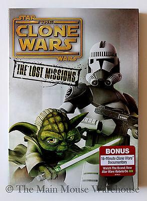 Star Wars The Clone Wars Season 6 Six The Lost Missions 3 Dvd Set No Slipcover 786936844191 Ebay